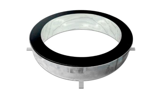 Tubo Solar Transitável  - Light Tubes - Sun Tunnels  - Tubo Solar - Heavy Floor - Cúpulas planas transitáveis - Sun Tunnel Flat dome