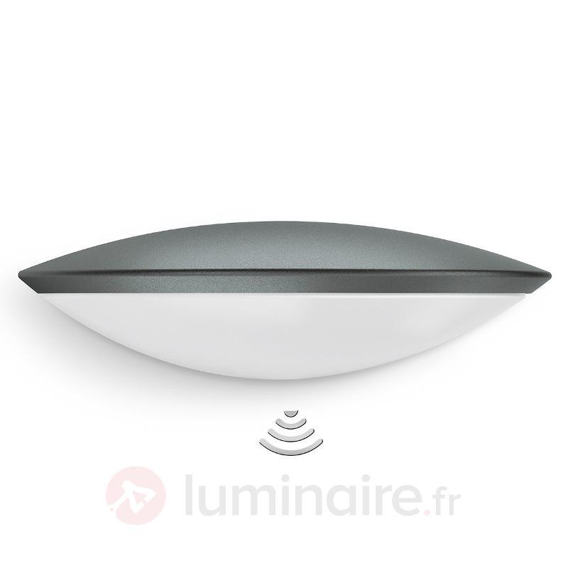 Applique ext. L825 LED iHF avec capteur anthracite - Appliques d'extérieur avec détecteur