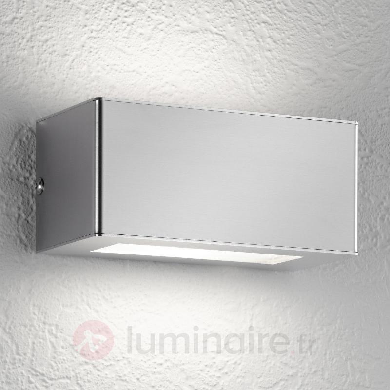 Applique d'extérieur LED à deux flammes Aqua Stone - Appliques d'extérieur inox
