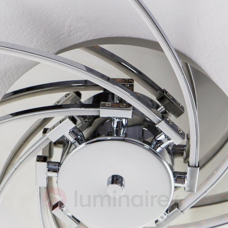 Plafonnier tourné LED Hanne - Plafonniers LED
