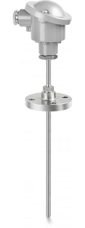 OPTITEMP TRA-TF33 - Resistance temperature probe / flange