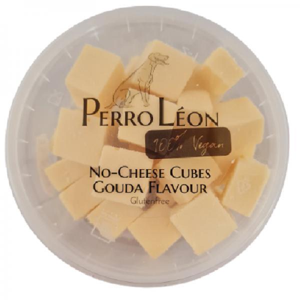 Vegan Tapas No-cheese Cubes Gouda Flavour - 1 jar is 100 gram no-cheese cubes