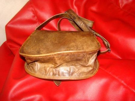Leather Ladies Purse  - Leather Purse for Ladies with with front pocket