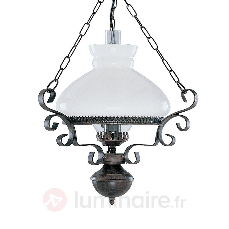 Suspension OIL LANTERN de charme antique - Suspensions rustiques