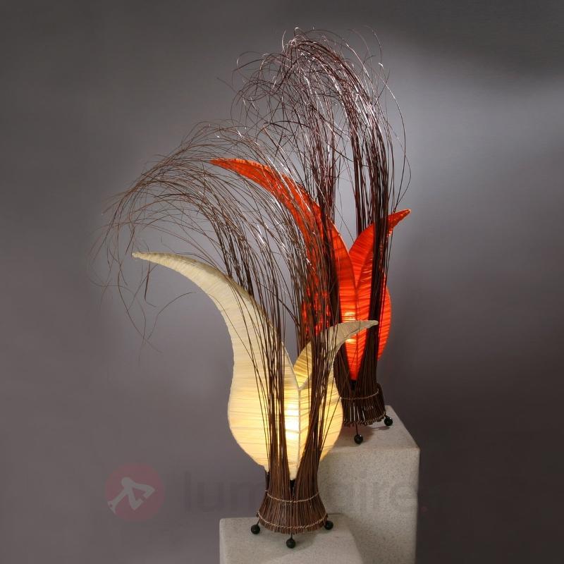 Lampe à poser florale Bunga crème - Lampes décoratives d'intérieur