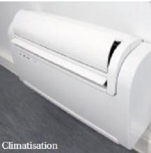 Climatisation pour bureau modulaire