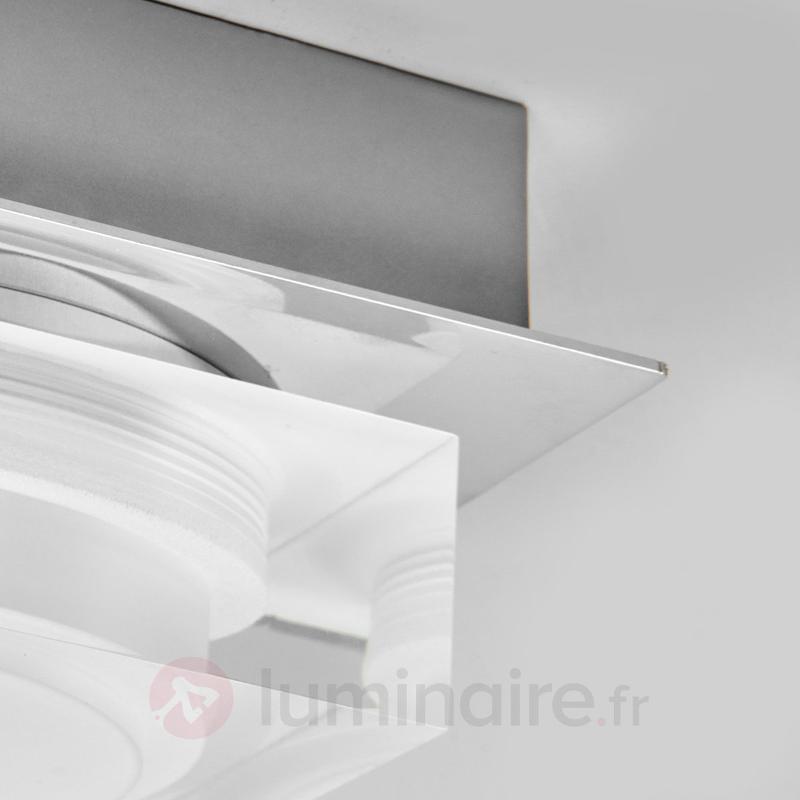 Plafonnier LED décoratif Birte pour salle de bain - Salle de bains