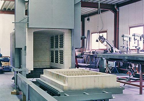 Fours pour traitements thermiques  - De 600°C à 1300°C