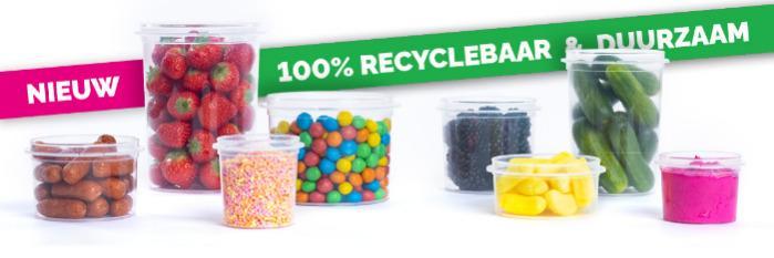 duurzame kunststof verpakkingen - 100% recyclebare verpakkingen