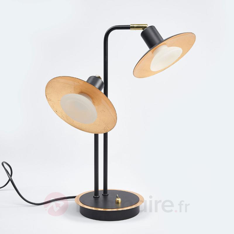 Lampe à poser LED Andrej à 2 lampes - Lampes à poser LED