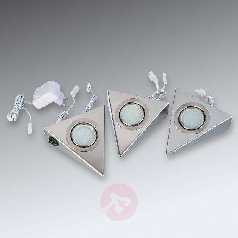 Three Piece set LED under-cabinet light Karla - Cabinet Lights