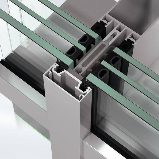 Fasada szklana Schüco FWS 50