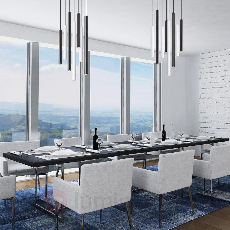 Suspension LED moderne Stylus en noir - Cuisine et salle à manger
