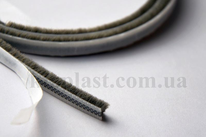 Pile Weatherstrip - Pile Weatherstrip,dustproof and buffer brush - 6,7x9-3Р