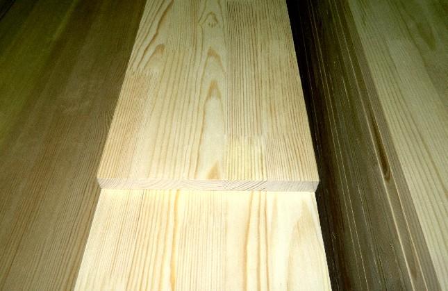 Мебельный щит из массива сосны и берёзы