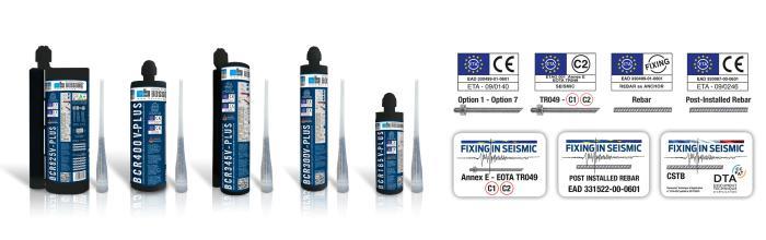 V-PLUS - Chemical anchors