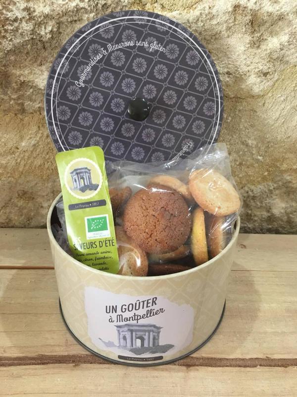 """Biscuits Macarons Gamme """"Pitchouns"""" Coffrets - Épicerie sucrée"""