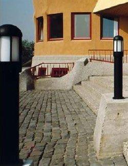 Borne lumineuse élégante 262 noire - Toutes les bornes lumineuses