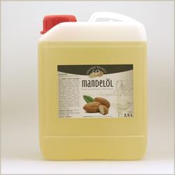Mandelöl süß, raffiniert - Naturkosmetik