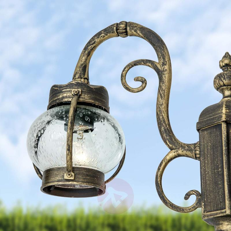 Light column Marguerite, 3-light - Pole Lights