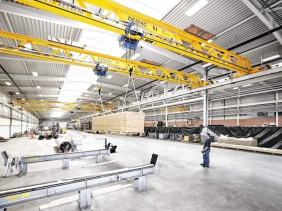 Demag V-type crane - Revolution in crane engineering