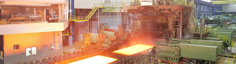 Heavy plate mills for steel - Hot rolling