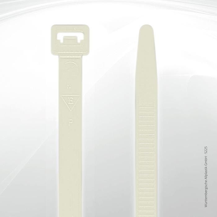Allplastik-Kabelbinder® cable ties, standard - 5225 (natural)