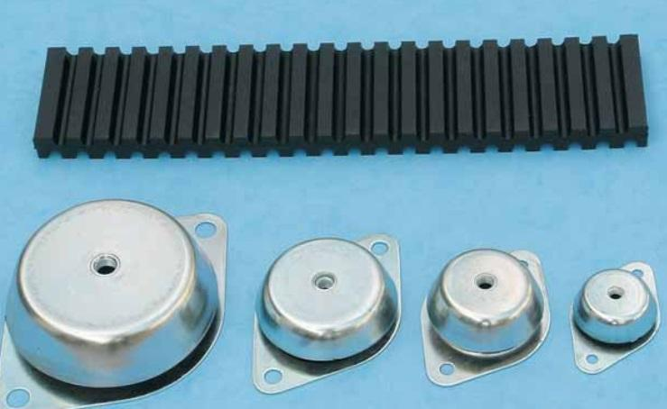 Ribbed Rubber slab - Rubber Seals