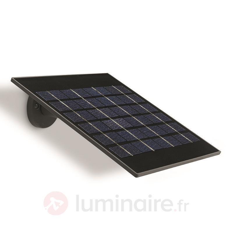 Élégante applique d'extérieur solaire LED Raven - Appliques solaires