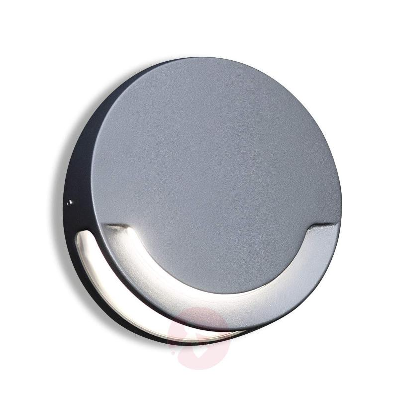 Sandwy Round Led Exterior Wall Light Ip44 Outdoor Lights