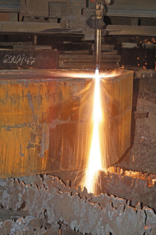 XXL-Brennzuschnitte für den Schwermaschinenbau