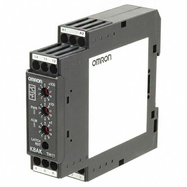 TEMP MONITORING RELAY TC/RTD - Omron Automation and Safety K8AK-TH11S 100-240VAC