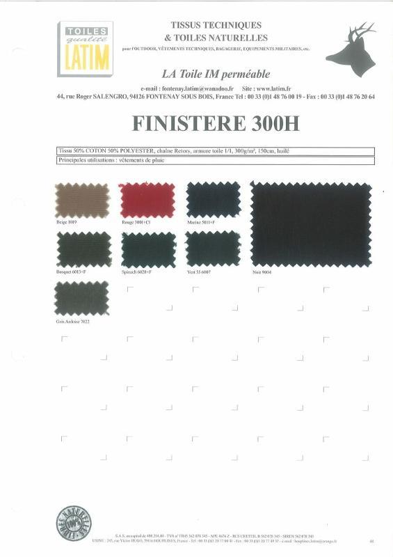 FINISTÈRE 300H - Toiles naturelles
