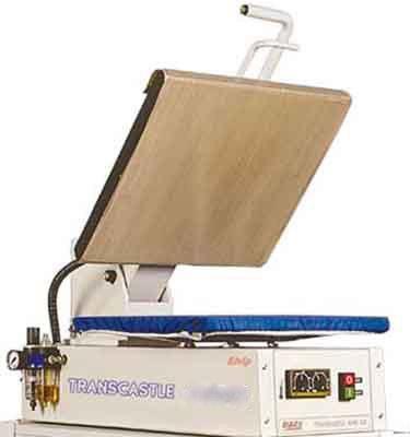 TRANSCASTLE 4045 AIR - HEAT PRESS MACHINE