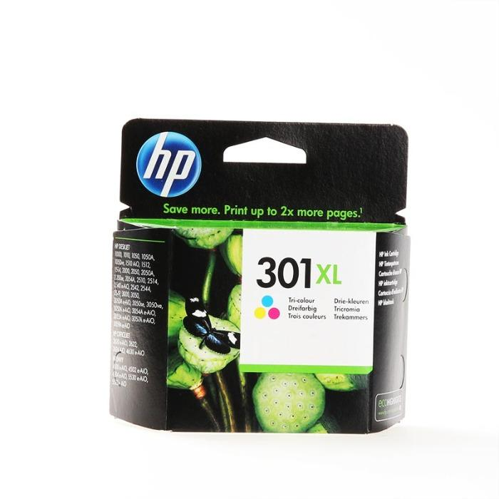 HP Inkt CH564EE - multipack - Inkt CH564EE High capacity No. 301XL cyan/magenta/yellow