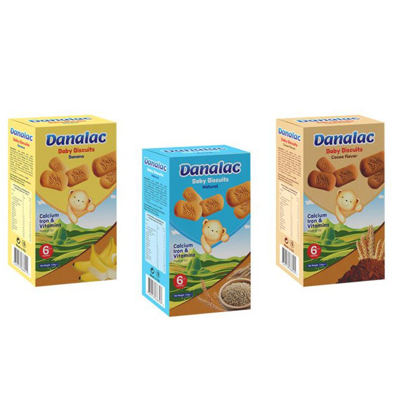 DANALAC Baby Teething Biscuits