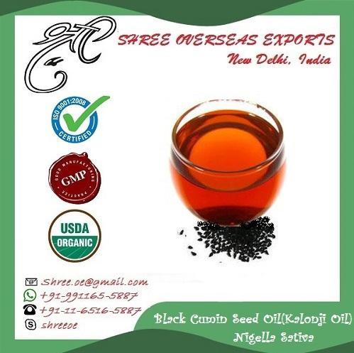 Organic Black Seed Oil (Nigella Sativa) - USDA Organic