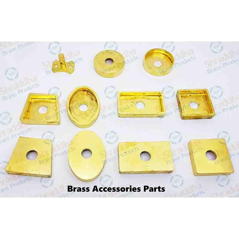 Brass Accessories Parts - Flanges, Towel Rail, Towel RIng