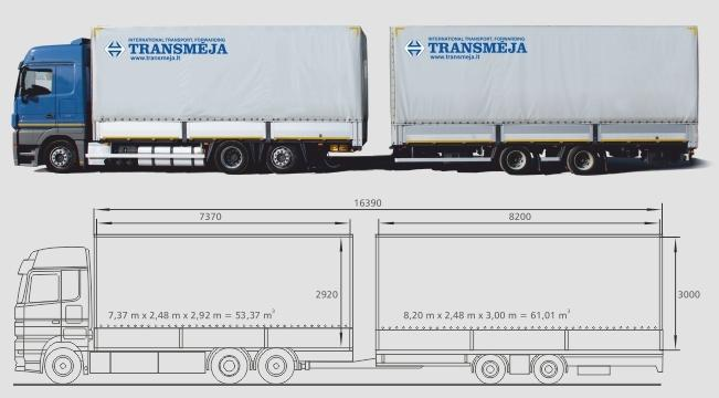 INTERNATIONAL TRANSPORT - International transport services