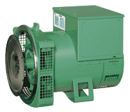 Low voltage alternator for generator set Stand-by - LSA 43.2 - 4 poles - Single phase 65 - 75 kVA/kW