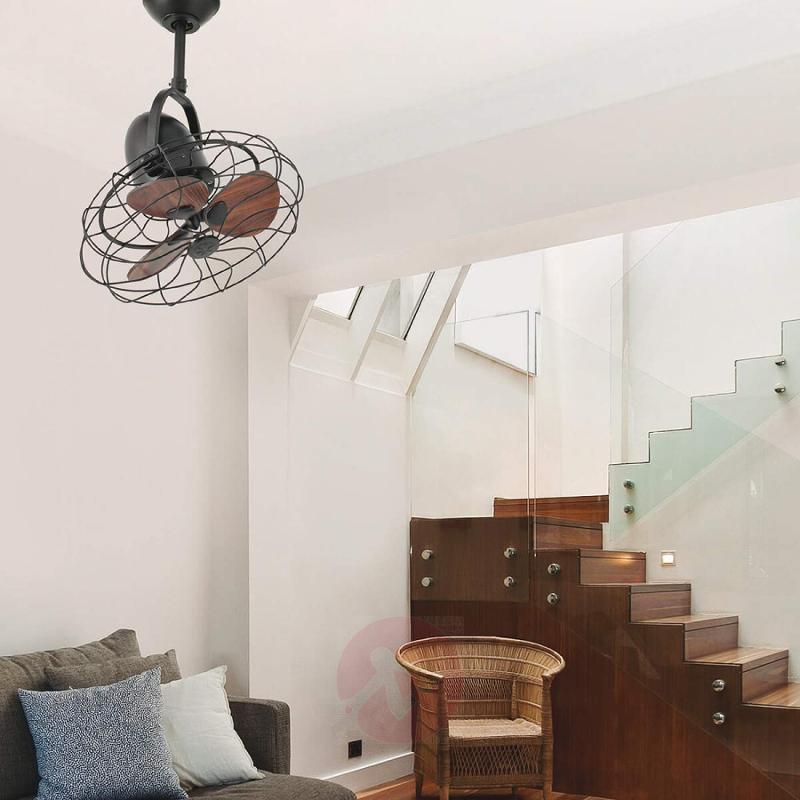 Keiki ceiling fan with a retro look - fans