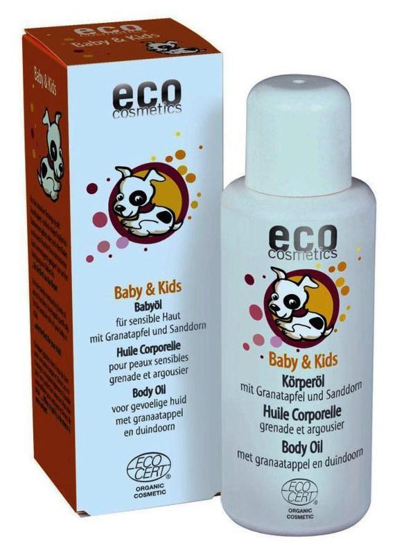 ECO Baby & Kids Öl 100ml mit Granatapfel und Sanddorn