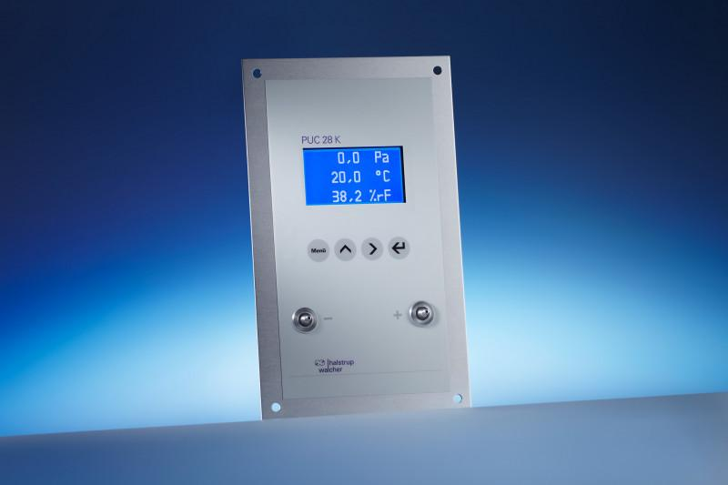 Prozess-Panel  PUC 28 / PUC 28 K - Prozess-Panel (Aluminium, eloxiert) zur Klimadaten-Darstellung