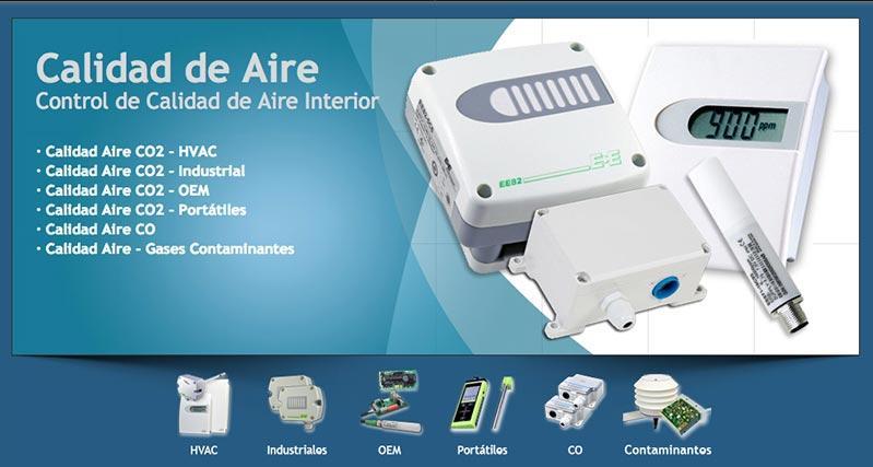 Sensores de Calidad de Aire - Control de Calidad de Aire Interior