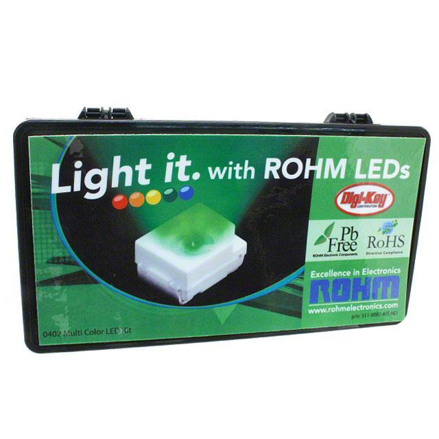 KIT LED 0402 MULTI COLOR - Rohm Semiconductor 511-8007-KIT