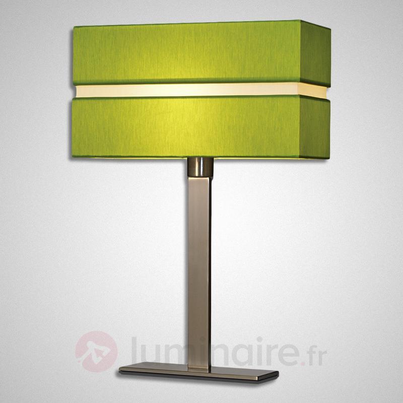 Lampe à poser textile moderne Nimbo - Lampes à poser en tissu