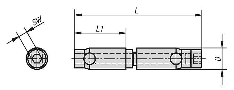 Fixation automatique double type I - Raccords