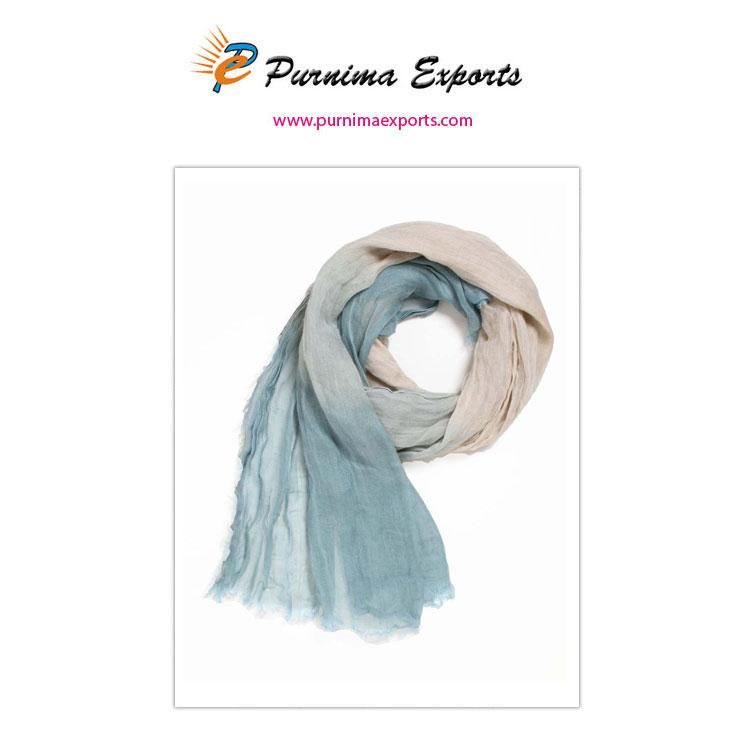 foulard tye and die bleu -