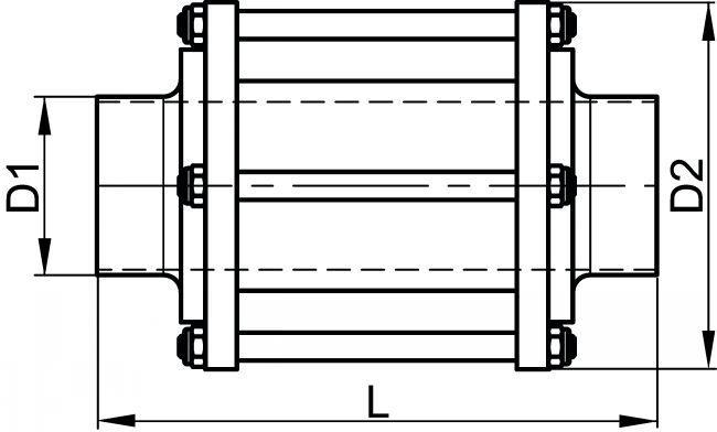 61421 INDICATEUR DE CIRCULATION BOUTS LISSES - Accessoires de robinetterie SMS