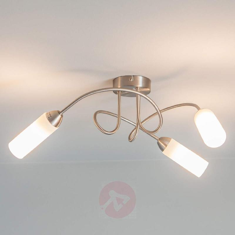 Elegant ceiling light Lenea with E14 LED lamps - Ceiling Lights